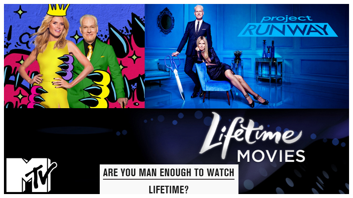 MTV.com Article Are You Man Enough To Watch Lifetime?