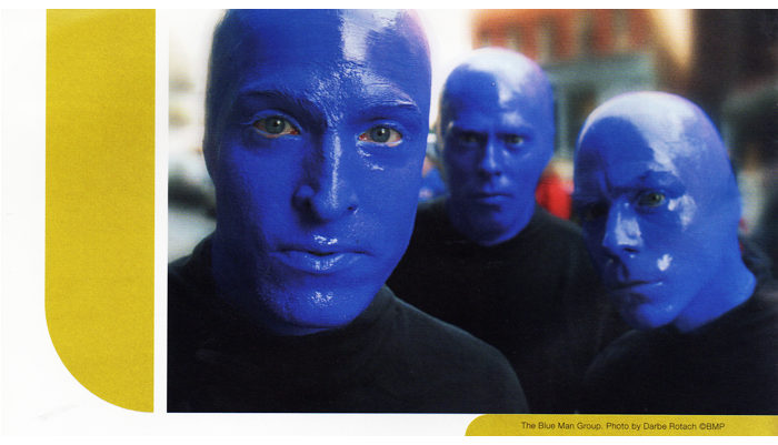 Cornish Magazine Article Blue Man Group