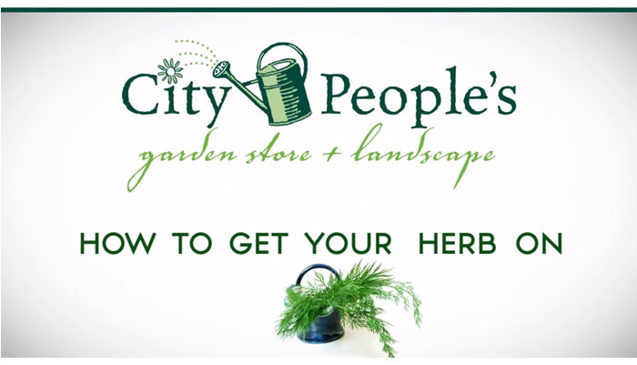 City People's Garden Store Video How To Get Your Herb On