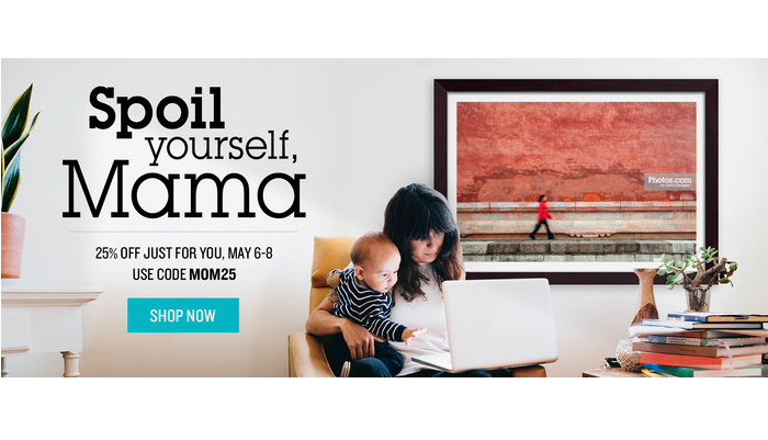 Photos.com Banner Ad Mother's Day
