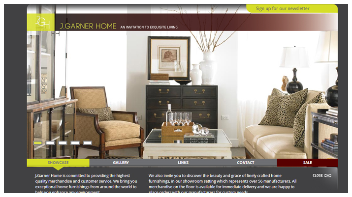 Exquisite Living Website