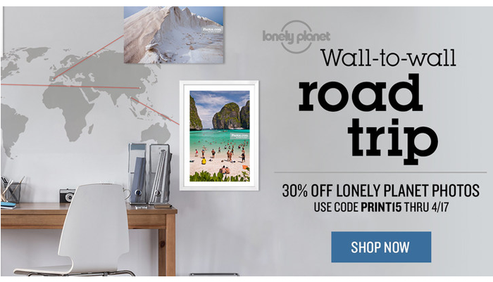 Photos.com Banner Ad Lonely Planet