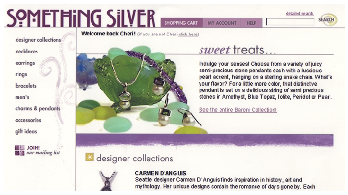 Something Silver Product Description
